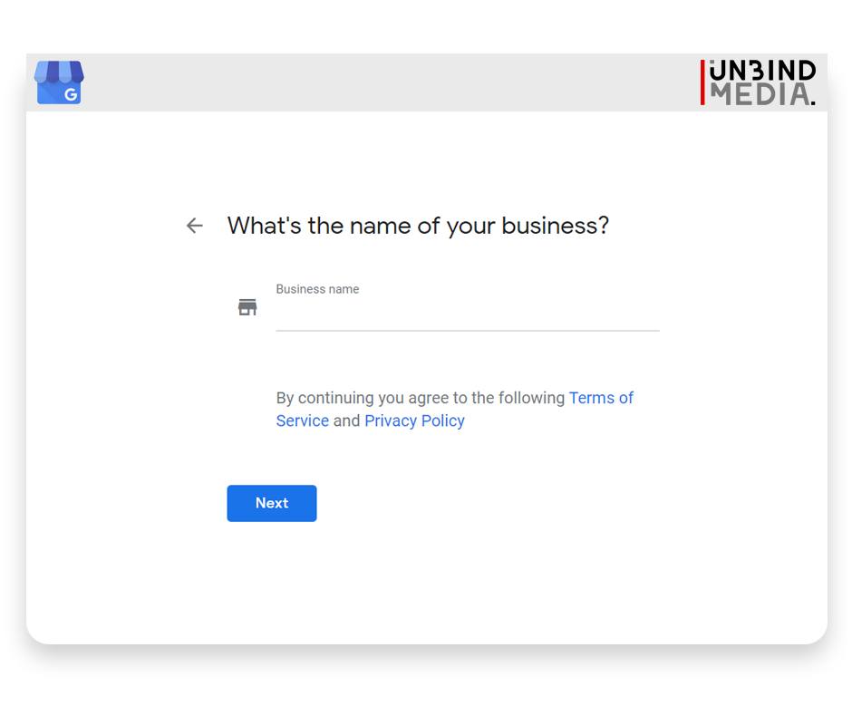 Google My Business, business name