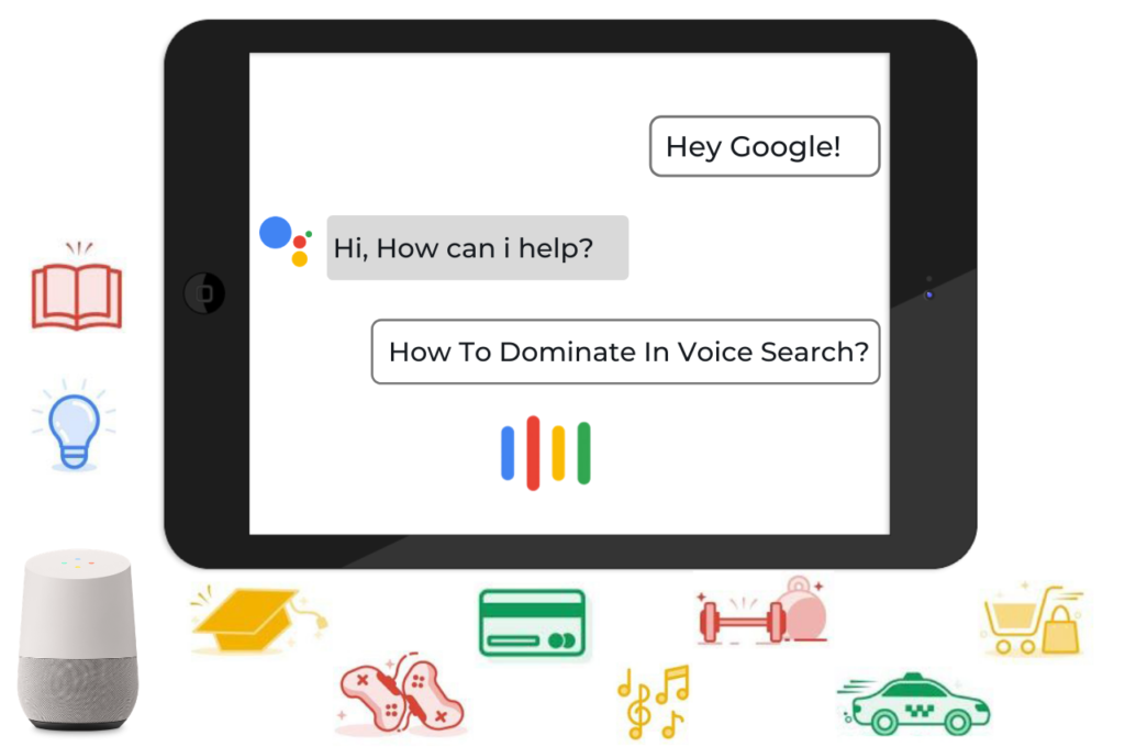 How to dominate in voice search
