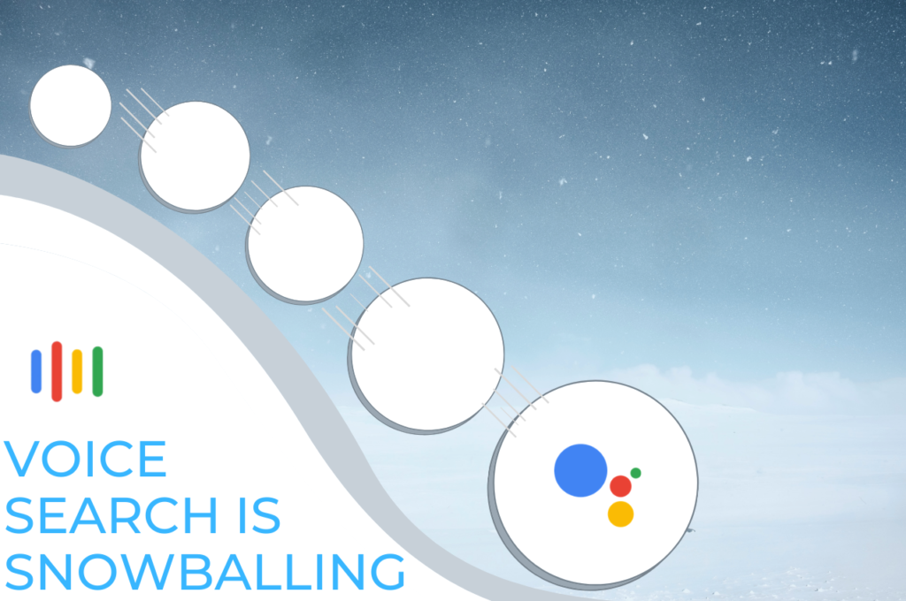 Voice Search Snowballing